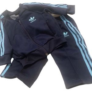 Adidas Toddler Track Suit Top Pants 9 Months